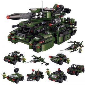 ZHEGAO QL0115 Lightning Raider Chariot 8 combinations 0