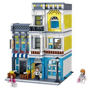 ZHEGAO QL0934 Street View: Summer Coffee Shop 0