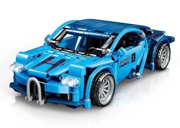 ZHEGAO QL0471 Bugatti Pull Back Car 0