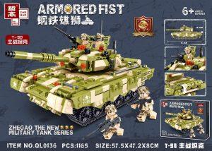 ZHEGAO QL0136 Steel Lions: T-90 Main Battle Tank 0