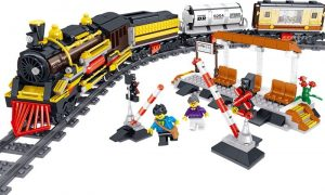 ZHEGAO QL0313 Rail Transport: Persend Steam Train 0