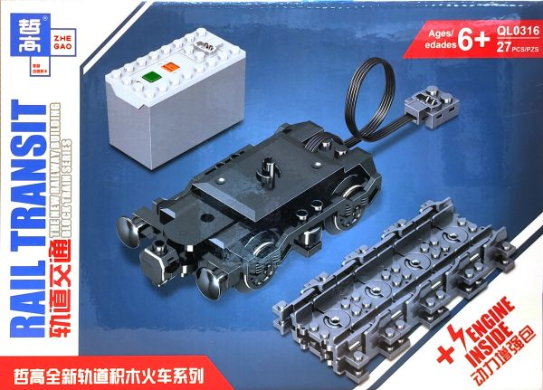 ZHEGAO QL0316 Rail Transit: Power Enhancement Pack 0